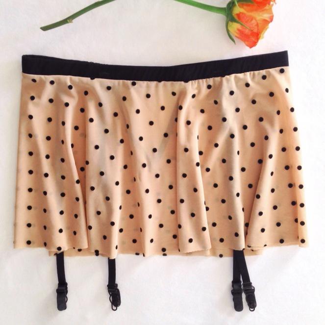 Flash-You-And-Me-Polka-Dot-Garter-Skirt